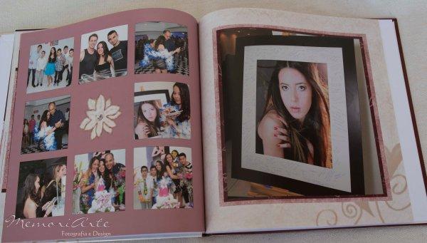 Album Fotolivro Fotografia Festa 15 anos